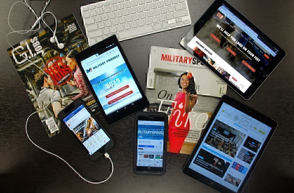 Multiple media sources for Military Recruitment Marketing
