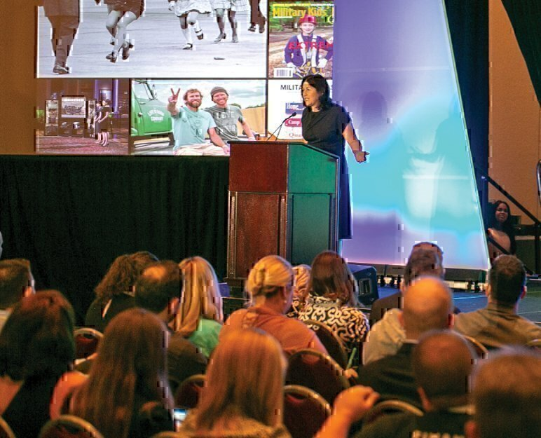 presentation VIQTORY audience veterans military spouse