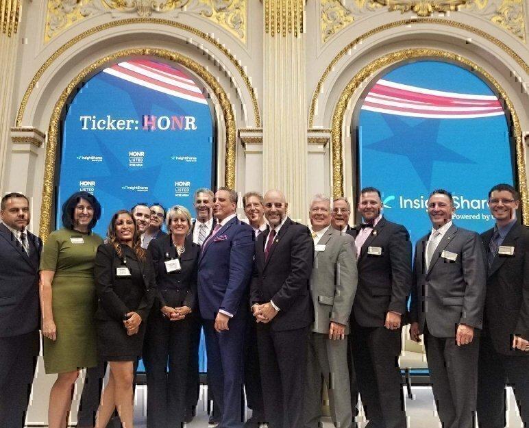 NYSE VIQTORY team HONR veterans stock market