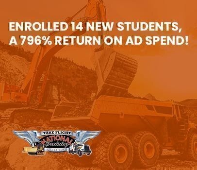 NATIONAL TRAINING, INC National Training, Inc Enrolled 14 New Students, a 769% Return on Ad Spend!