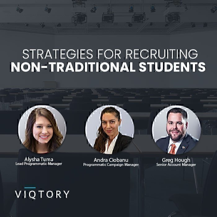 Non-Traditional Student Recruitment Webinar