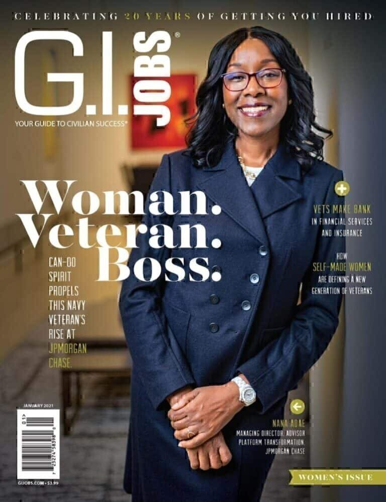 GI Jobs January 2021 Cover