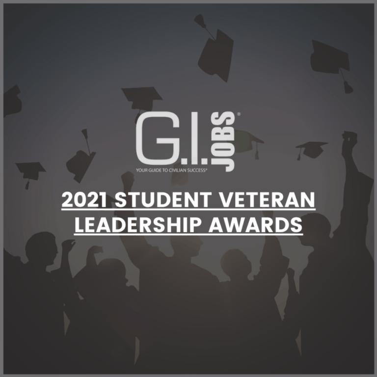 Student veteran leadership awards