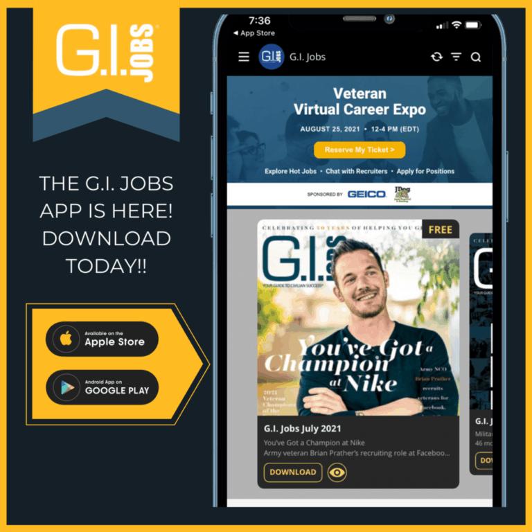 G.I. Jobs App